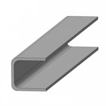 Швеллер холодногнутый ГОСТ 8278-83 размер 100х40х4/R6 ст.03Х17Н13М2